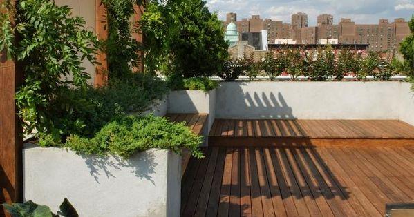 Consejos de dise o para terrazas en ticos y azoteas - Diseno terrazas aticos ...