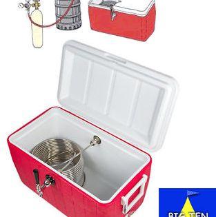 Jockey Box Single Tap Beer Coil Cooler Rental Iowa Add Ice