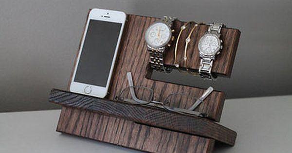 Best Mens Wood Tray Valet Jewelry Box Storage Dresser 400 x 300