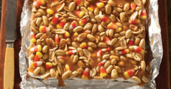 Salted nut bars, Nut bar and Bar recipes on Pinterest