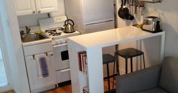 Soluciones para cocinas peque as cocina peque a - Cocinas pequenas soluciones ...