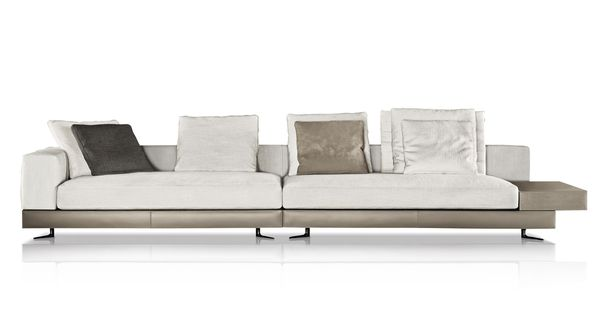 Minotti white sofa minotti pinterest white sofas for Andersen leather chaise sectional