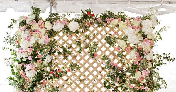 Image Result For Silk Flower Wall