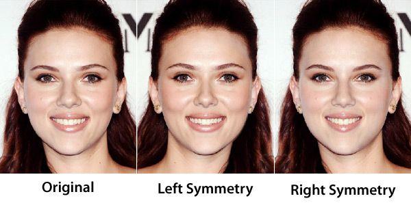 Face Symmetry Of Celebrities Face Symmetry Face Fillers Face
