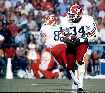 Herschel Walker Born In Georgia I Hear He Played Some Good Ball College Football Players Georgia Football Georgia Bulldogs Football