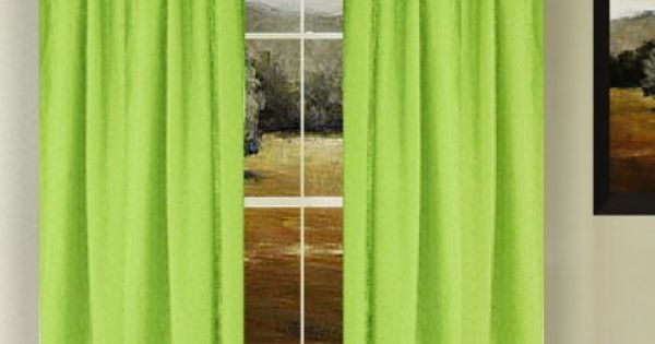 16 Remarkable Lime Green Blackout Curtains Snapshot Ideas