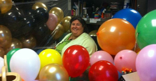 Office prank 50th birthday | Office cubicle fun | Pinterest