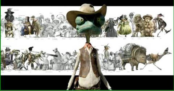 Rango Movie Character Pelicula Rango Animacion Peliculas
