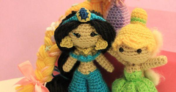 Amigurumi Join : Jasmine Amigurumi Pattern Crochet Doll Disney pattern by ...