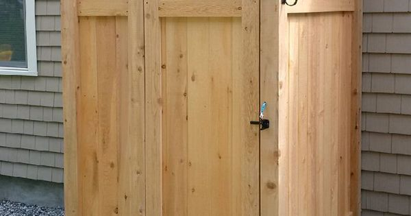 Outdoor Showers Are Our Specialty Our Cape Cod Outdoor Shower Kit Enclosures