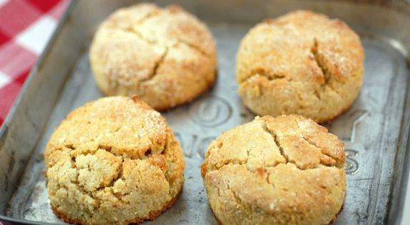 Easy Paleo Biscuits Recipe | 2 ½ cups blanched almond flour, plus