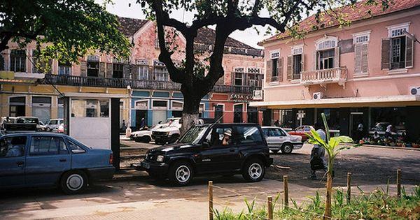 Agua Grande Sao Tome Principe Island Nations Island Africa