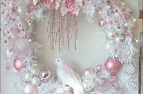 Couronne couronnes pinterest thanksgiving shabby for Couronne shabby chic