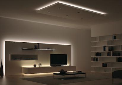 Loox Led System Living Room Lighting Living Room Tv Wall Interior Lighting