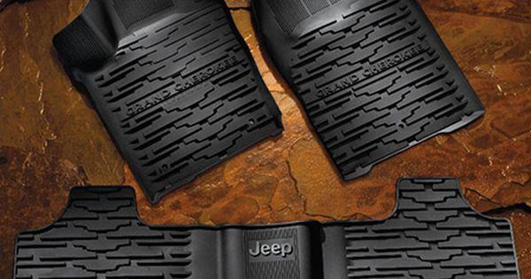Jeep Grand Cherokee Slush Mats Jeep Grand Cherokee Accessories