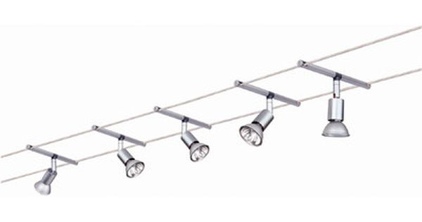Paulmann Wire 12v 5 Light Track Spice Salt 105 Complete Systems Set Wayfair Uk Track Lighting Kits Rustic Track Lighting Track Lighting