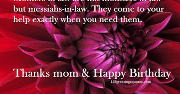 Top 16 Images Happy Birthday Wishes For Mother In Law And Best