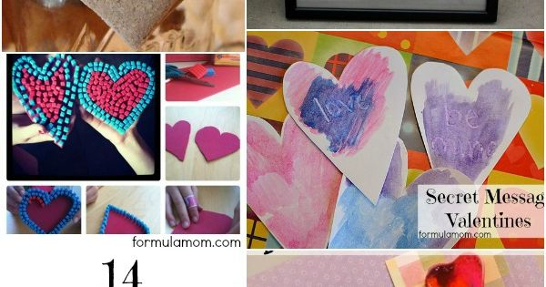 14 Valentine's Day Crafts ValentinesDay