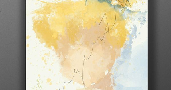Fairy of the tinkers impressionist digital painting for Abstract impressionism definition