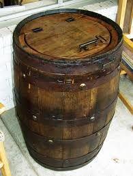 Wine Barrel Trash Can Teak Furniture Texas Decor And More Pottery Ranch Texas Decor Barrel Furniture Wine Theme Kitchen