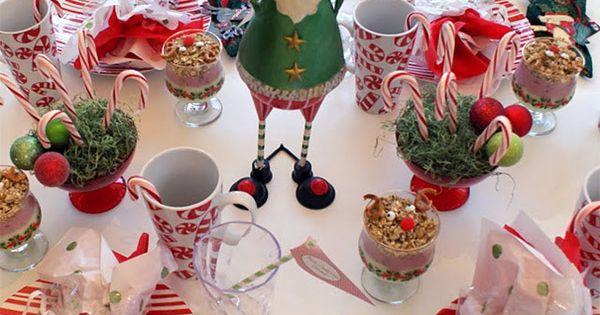 Christmas table decorations: 30 gorgeous last-minute ideas | Christmas ...