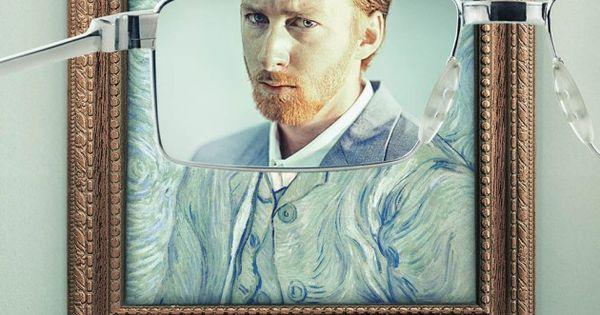 Keloptic- peinture Vincent Van Gogh /// Agence Young and Rubicam /// Voyez