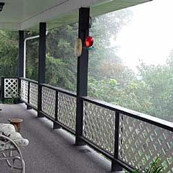 Front Porch Railings Options Designs And Installation Tips Front Porch Railings Porch Railing Patio Railing