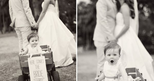 Cutest picture ever. My flower girl and ring bearer will be in