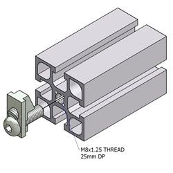 Minitec T Slotted Aluminum Extrusions Modular Aluminum Profiles For Custom Construction From Aluminum Extrusions Custo Aluminum Extrusion Extrusion Conveyors