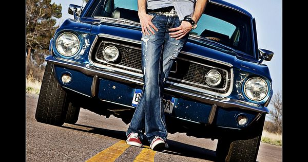 Great senior pic idea - with their car they used in high