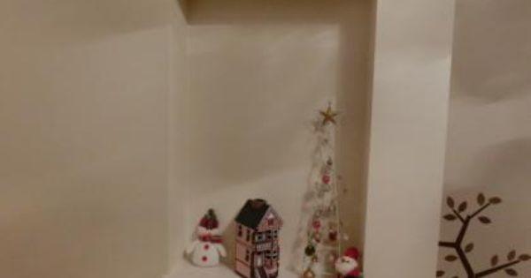 玄関ニッチでクリスマスの飾りつけ Decor Floating Shelves Home Decor