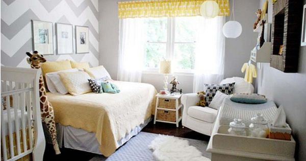 I love how cozy this nursery is! Day bed, comfy rocker...so great!
