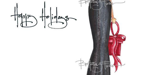 Brittany Fuson Custom Christmas Cards Danielle