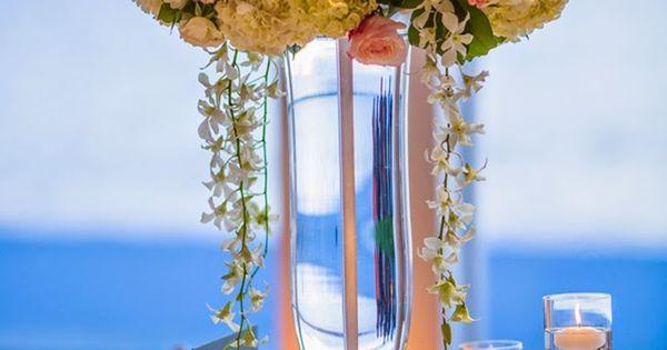 Cream And Blush Black Tie Wedding: Cream And Blush Black Tie Wedding Centerpiece