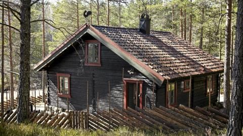 Old Shabby House In The Forest Norway Scandinavia House Forest House Swedish Cottage