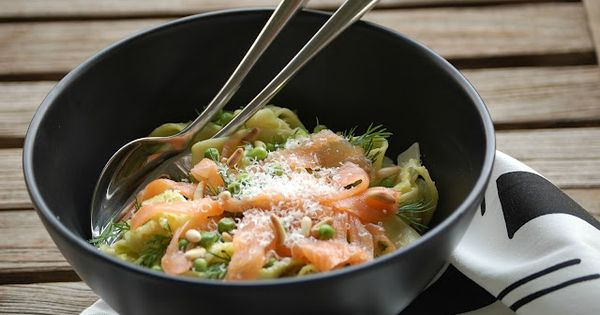 Salmon pasta, Pasta and Salmon on Pinterest