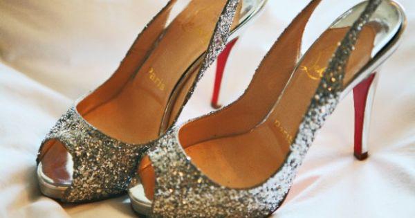 sparkly heels:)