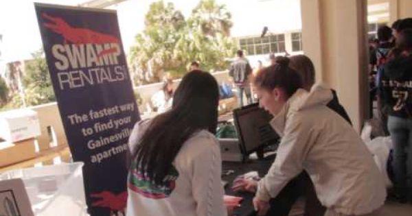 Swamp Rentals At The 2013 Uf Student Housing Fair At The University Of Florida University Of Florida University Florida