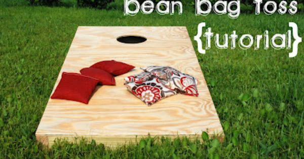 Bean Bag Toss Tutorial - Sawdust & Paper Scraps