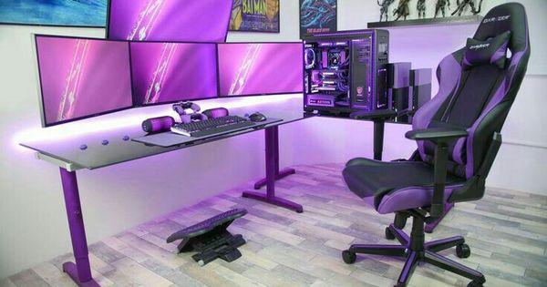 Set Up Goals But Pink Setup Pinterest Gaming