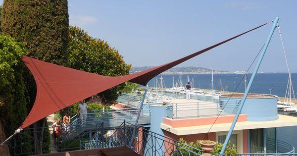 voiles d 39 ombrage voile ombrage toiles pergolas toile solaire d co pinterest sail shade. Black Bedroom Furniture Sets. Home Design Ideas