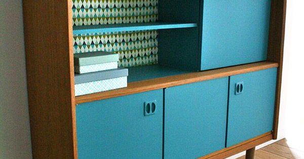 Meubles buffet secretaire vintage oscar 5 r nov s house for Meubles concept paris