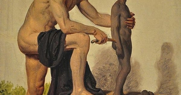 Prometheus Creating Man brazenswing: Constanti...