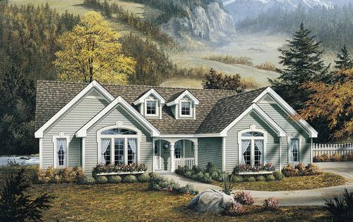 Plan H007d 0067 The Brookmont At Menards Cottage House Plans Cottage Floor Plans Traditional House Plans
