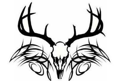 Deer Skull With Tribal Tattoo Go Forward From Deer Skull Tattoos To Tribal Skull Tattoos Deer Skull Tattoos Antler Tattoos Deer Antler Tattoos