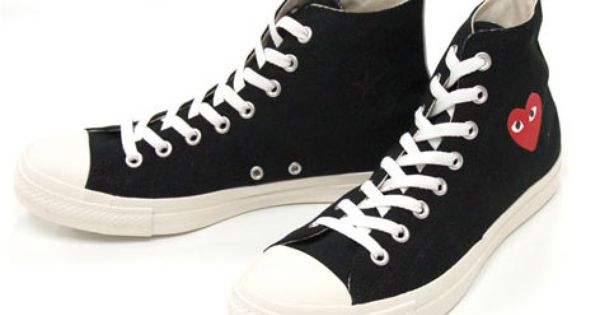 Comme des Garcons PLAY x Converse Chuck Taylor Available ...