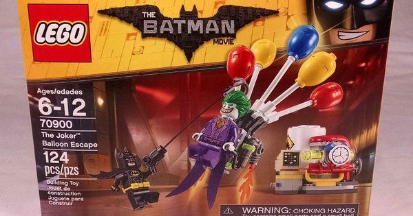2017 Lego Batman Movie 70900 The Joker Balloon Escape New Sealed Afflink Lego Batman Movie Lego Batman Batman Toys