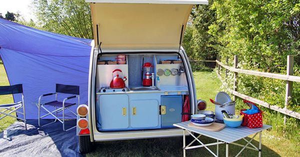 Micro Mini Camper With Outdoor Kitchen Area Smart Clever