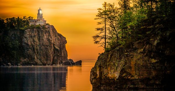 Split Rock Lighthouse ~ North Shore of Lake Superior, Minnesota [photo by
