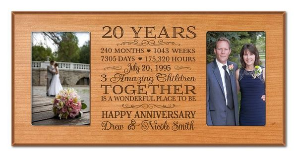 Twenty Wedding Anniversary Gift: 20th Wedding Anniversary Gift Ideas For Her